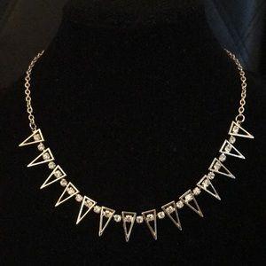Jewelmint Gold Statement Necklace NEW